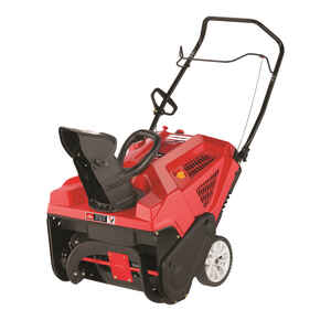 Troy-Bilt  Squall 123R  21 in. W 123 cc Single-Stage  Manual Start  Gas  Snow Thrower