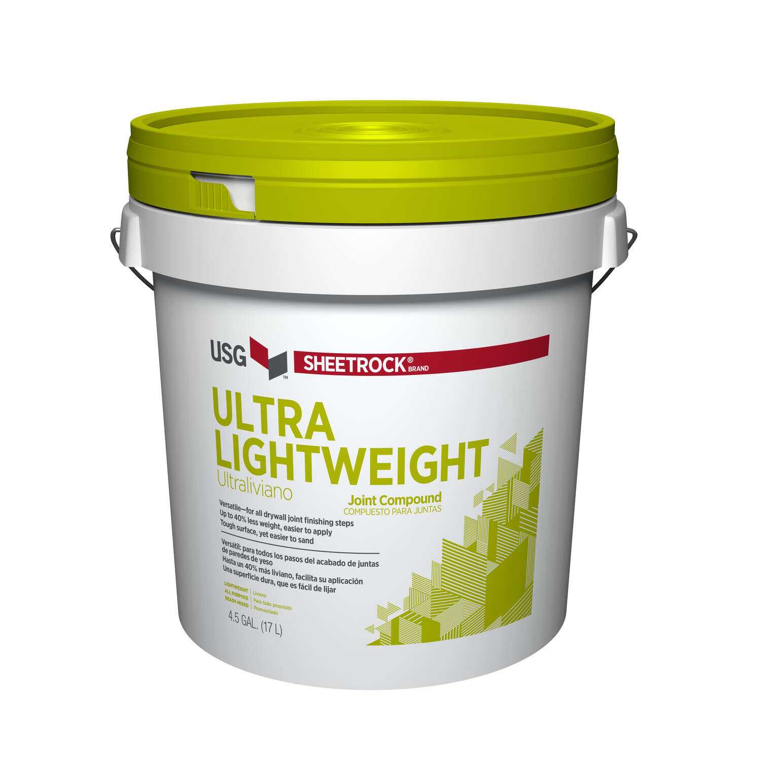 Sheetrock Off-White Ultra Lightweight Joint Compound 4.5 gal.