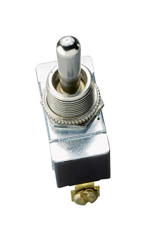Gardner Bender  20 amps Toggle  Switch  1  Silver  20 amps