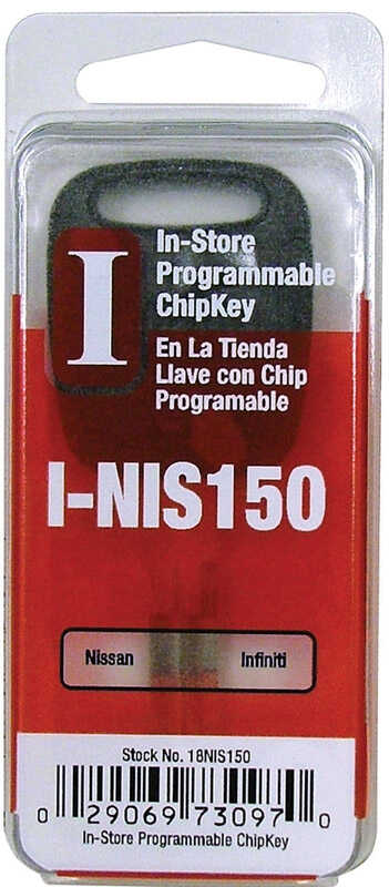 Hy-Ko  Automotive  Chipkey  EZ# I-NIS150  Single sided For For Nissan