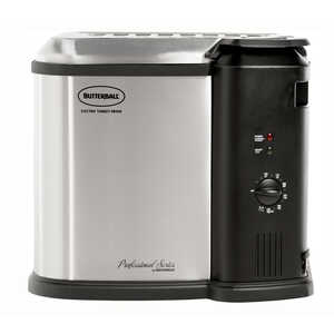 Masterbuilt  Metallic  14 lb. Indoor Turkey Fryer
