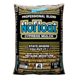 No Float Earthtone Cypress Blend Mulch 2 cu. ft.