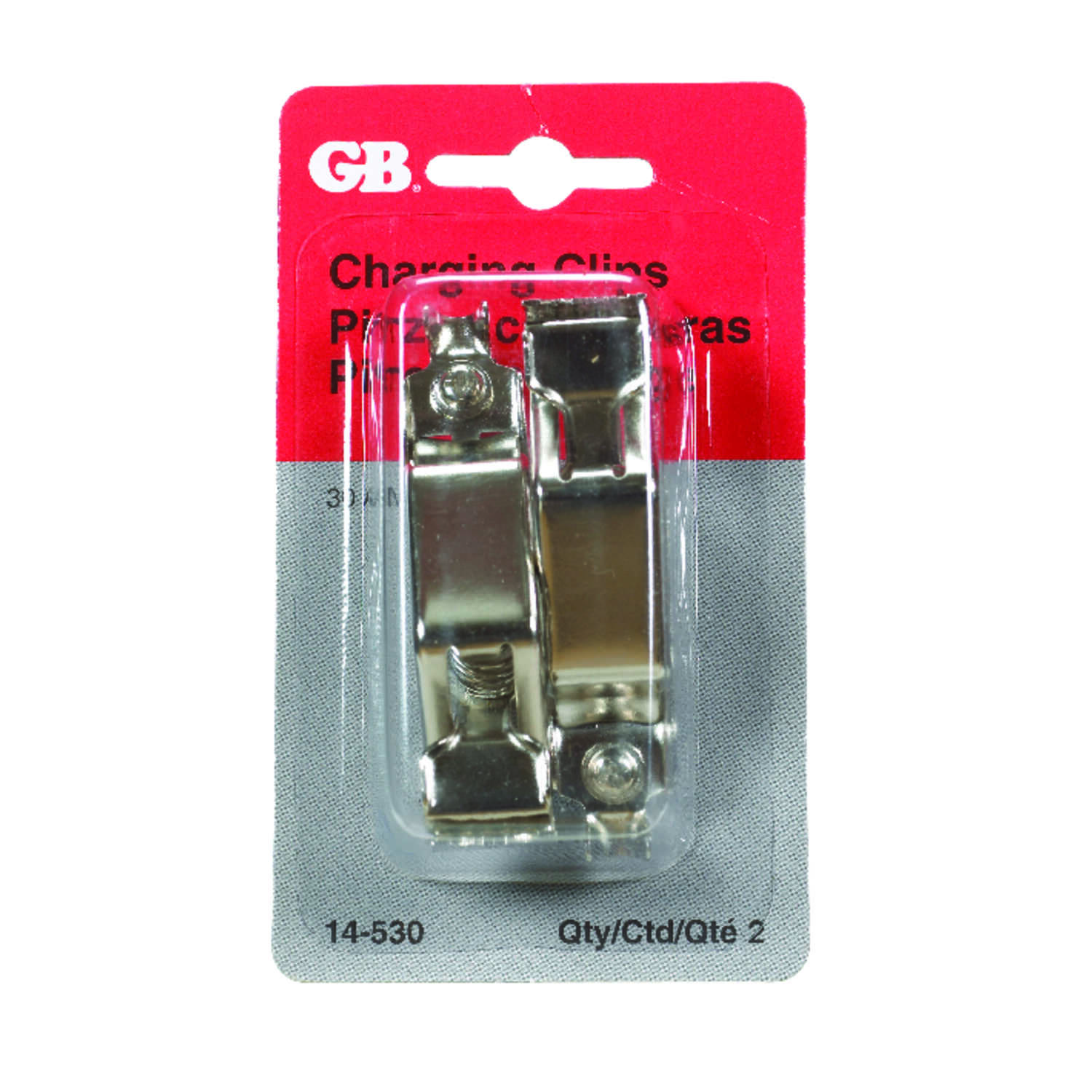 Gardner Bender  30  Battery Charging Clips  2 pk