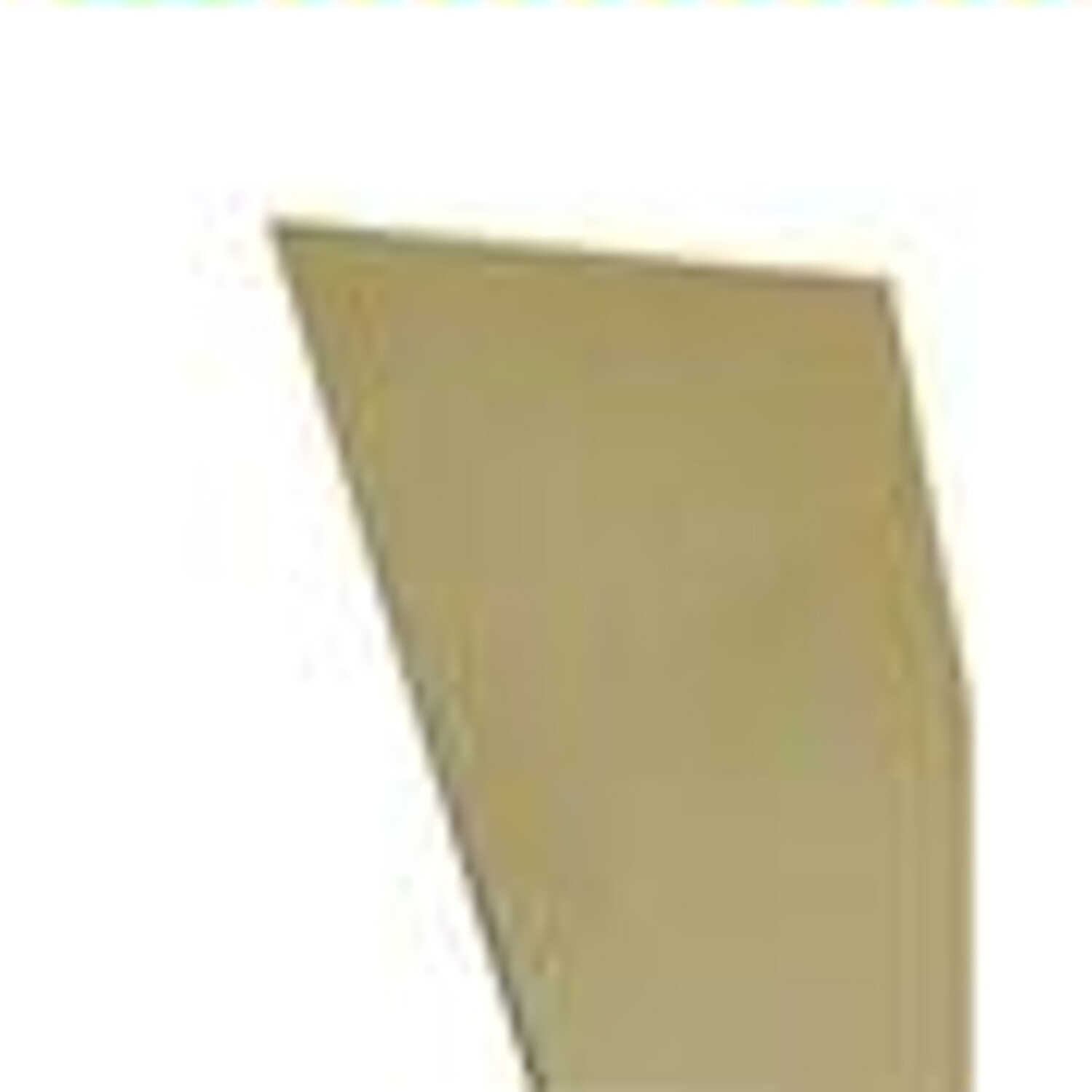 K&S  0.01 in.  x 6 in. W x 12 in. L Brass  Sheet Metal