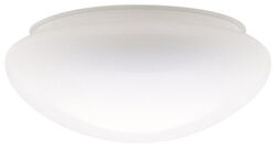 Westinghouse Mushroom White Glass Lamp Shade 1 pk