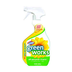 Clorox  Green Works  Original Scent All Purpose Cleaner  32 oz. Liquid