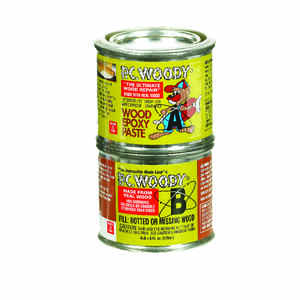 PC-Woody  Tan  Two Part Wood Epoxy Paste  6 oz