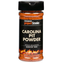 Steven Raichlen Project Smoke  Carolina Pit Powder  BBQ Rub  4.75 oz.