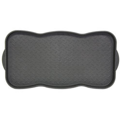 Sports Licensing Solutions 30 in. L x 15 in. W Black Tred Nonslip Boot/Shoe Mat