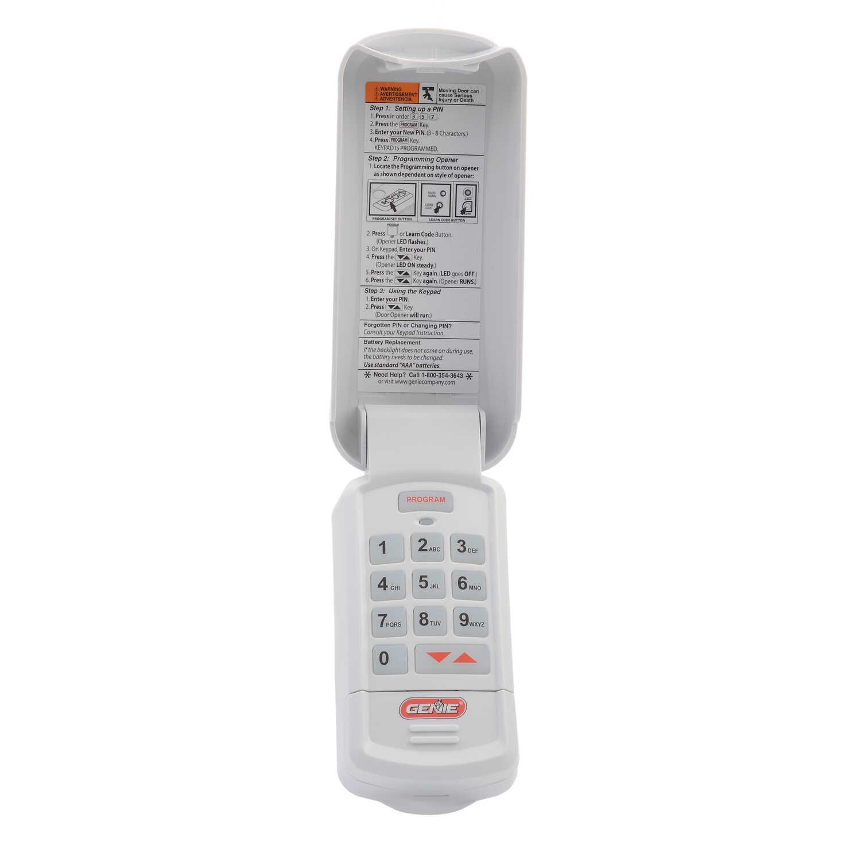 Genie 3 Wireless Keyless Entry System For Compatible With Genie