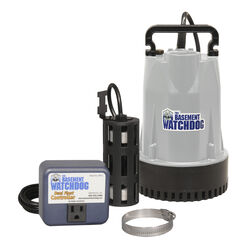 Basement Watchdog  1/3 hp 3,720 gph Aluminum  Dual Reed  AC  Submersible Sump Pump
