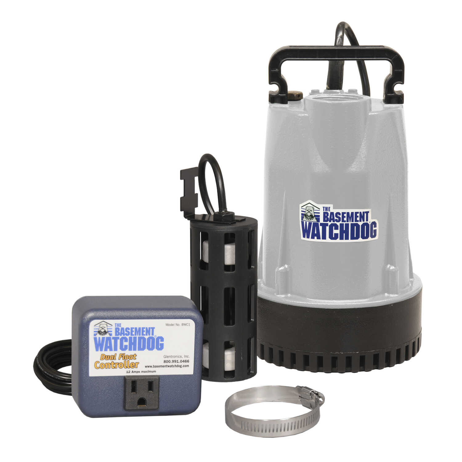 Basement Watchdog  1/3 hp 3720 gph Aluminium  Submersible Sump Pump