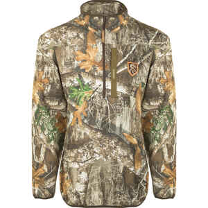 Drake  Camo Tech  XX-Large  Long Sleeve  Men's  Realtree Edge  Pullover
