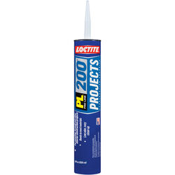 Loctite  PL 200 Projects  Synthetic Elastomeric Polymer  Construction Adhesive  28 oz.