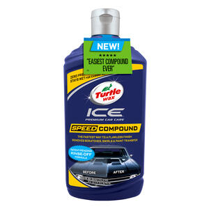 Turtle Wax  Ice Speed  Liquid  Automobile Polish  16 oz. For All Finishes