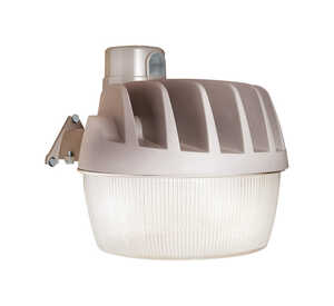 All-Pro  Dusk to Dawn  Hardwired  LED  Gray  Area Light