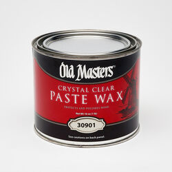 Old Masters  Clear  Paste Wax  Paste  1 lb.