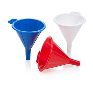 Arrow Home Products  Assorted  3-1/2 in. H Polyethylene  4 oz. Funnel