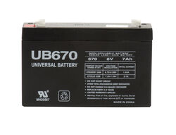 Universal Power Group UB670 7 CCA Lead Acid Automotive Battery
