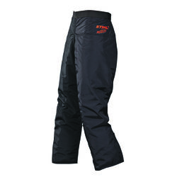 STIHL  Nylon  6-Layer Woodcutter  Chaps  Black  1 pk