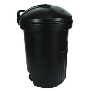 Semco  32 gal. Plastic  Garbage Can