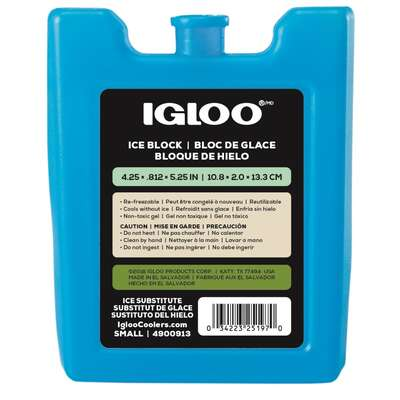 Igloo  MaxCold  Ice Gel Pack  6.8 oz. Blue  1 pk