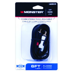 Monster  Just Hook It Up  Cable Adapter  1 pk