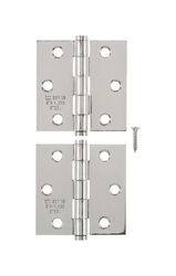 Ace  2-1/2 in. L Stainless Steel  Narrow Hinge  2 pk