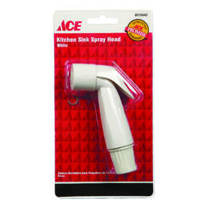 Ace  White  Other  Plastic  Sink Spray Head
