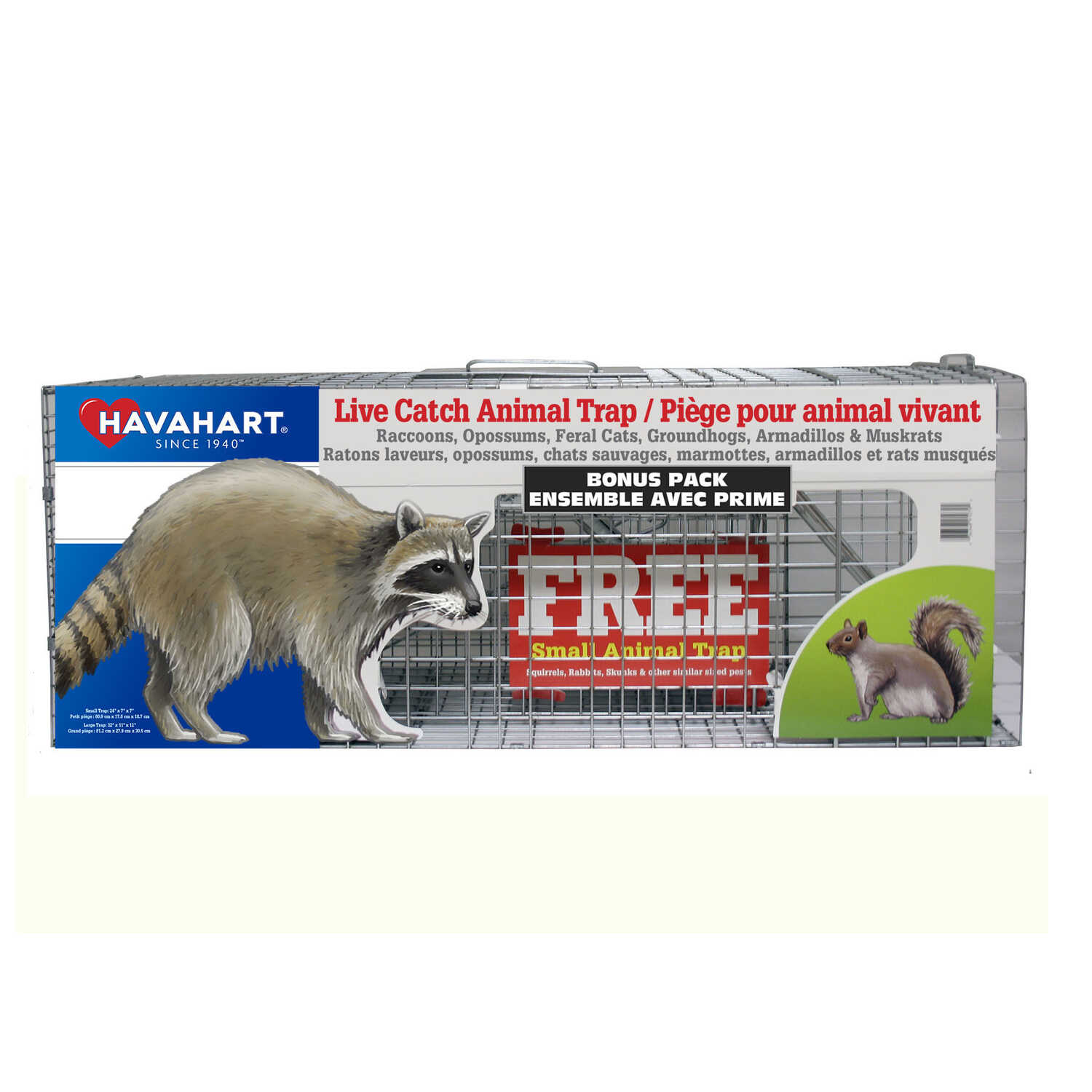 Havahart  Live Catch  Animal Trap  For Raccoons 2 pk