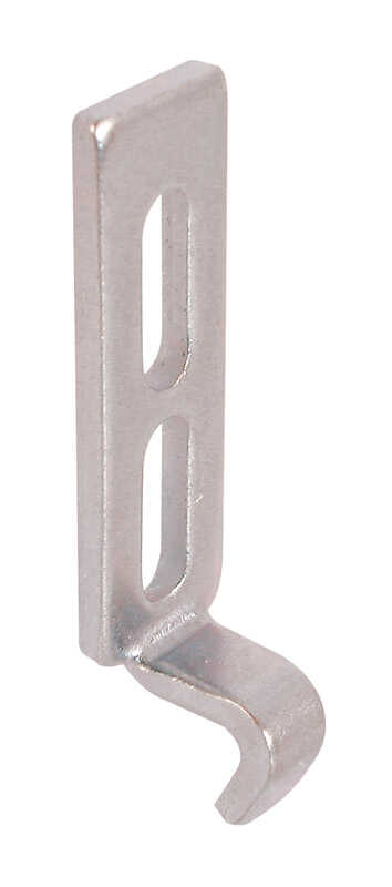 Prime-Line  Zinc-Plated  Cast Metal  Latch Strike  2 pk