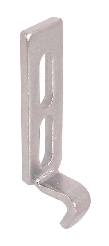 Prime-Line  Zinc-Plated  Stainless Steel  Latch Strike  2 pk