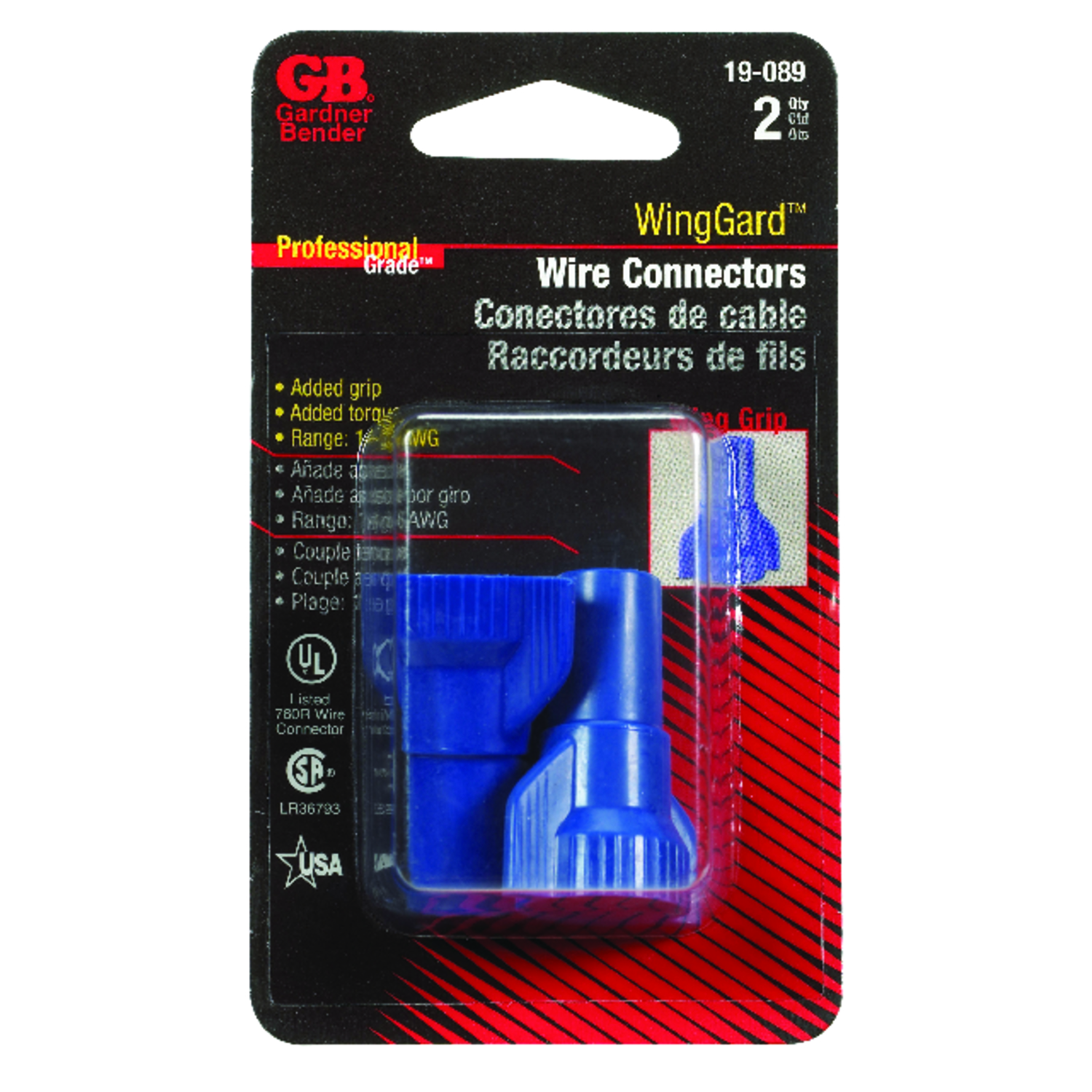 WingGard  14-6 AWG 2  Wire Connector