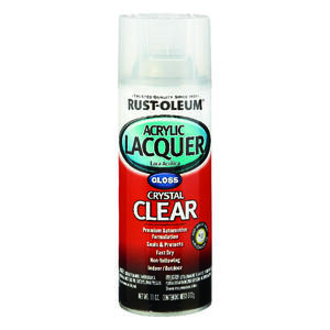 Rust-Oleum  Automotive Lacquer  Gloss  Clear  Automotive Acrylic Lacquer Spray  12 oz.