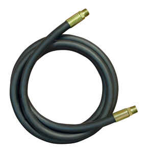 Apache  0.4 in. Dia. x 12 in. L 4000 psi Rubber  2-Wire Hydraulic Hose