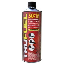 TruFuel  50:1  2 Cycle Engine  Premium Synthetic  Premixed Gas and Oil  32