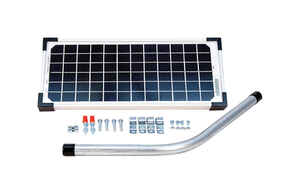Mighty Mule  12 volt Solar Powered  Solar Panel For Gate Opener