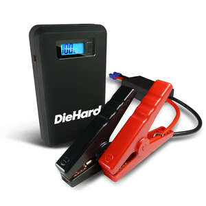 Red Fuel  Automatic  8000 mA Battery Jump Starter  8000 amps