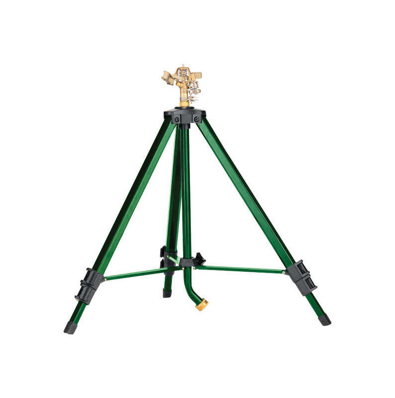 Ace  Zinc  Tripod Base  Impulse Sprinkler  7800 sq. ft.