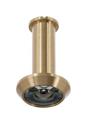 Ace 0.5 in. Dia. 200 deg. Bright Brass Door Viewer