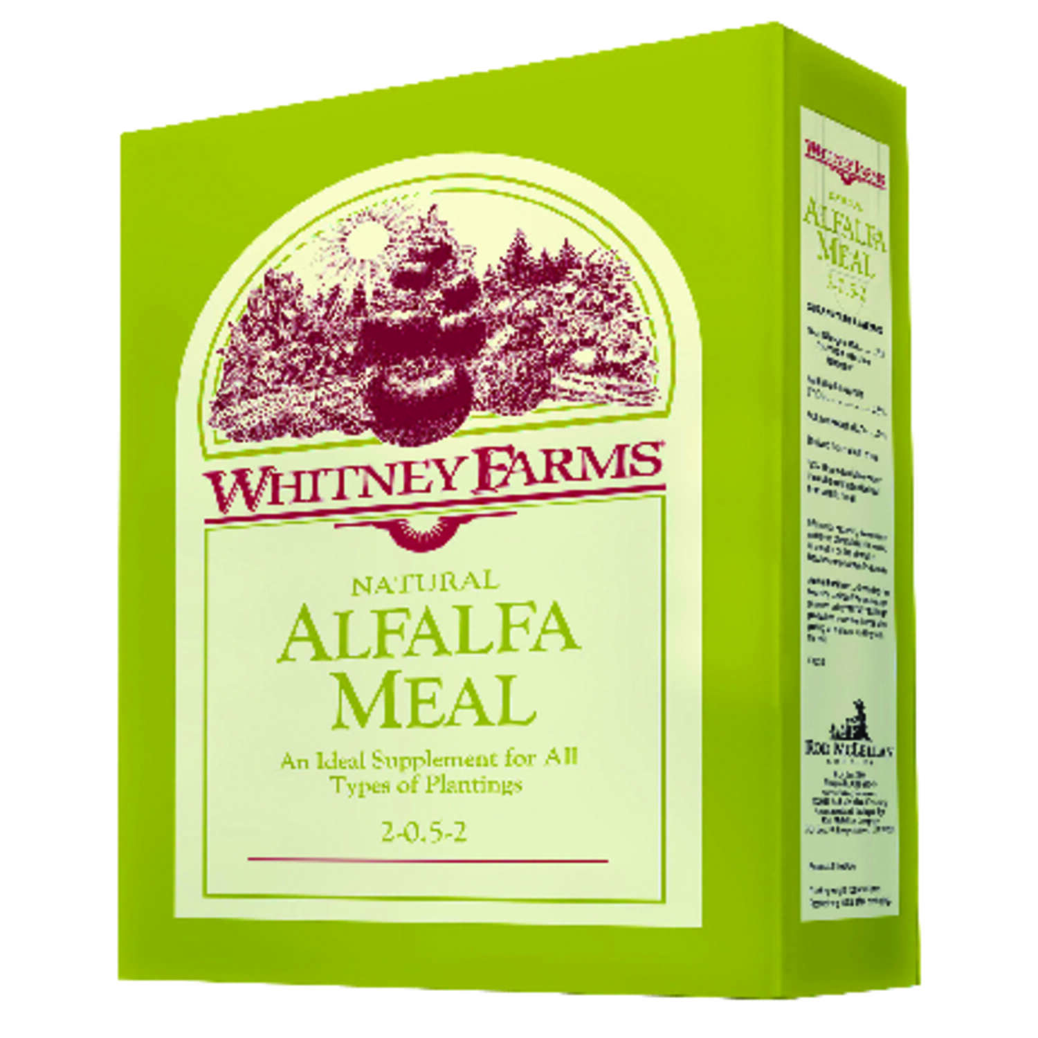 Whitney Farms  Alfalfa Meal  Granules  Organic Plant Food  3 lb.