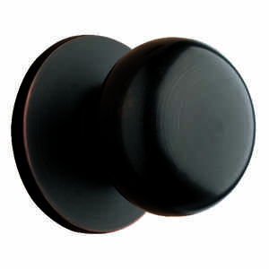Ace  Colonial  Oil Rubbed Bronze  Steel  Dummy Knob  3 Grade Non-Handed