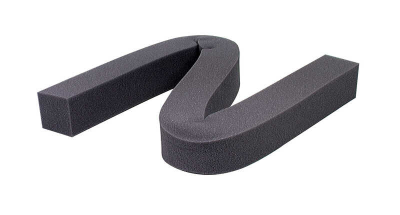 M-D Building Products  Gray  Foam  Weather Stripping  For Air Conditioner 42 in. L x 1-1/4 in.
