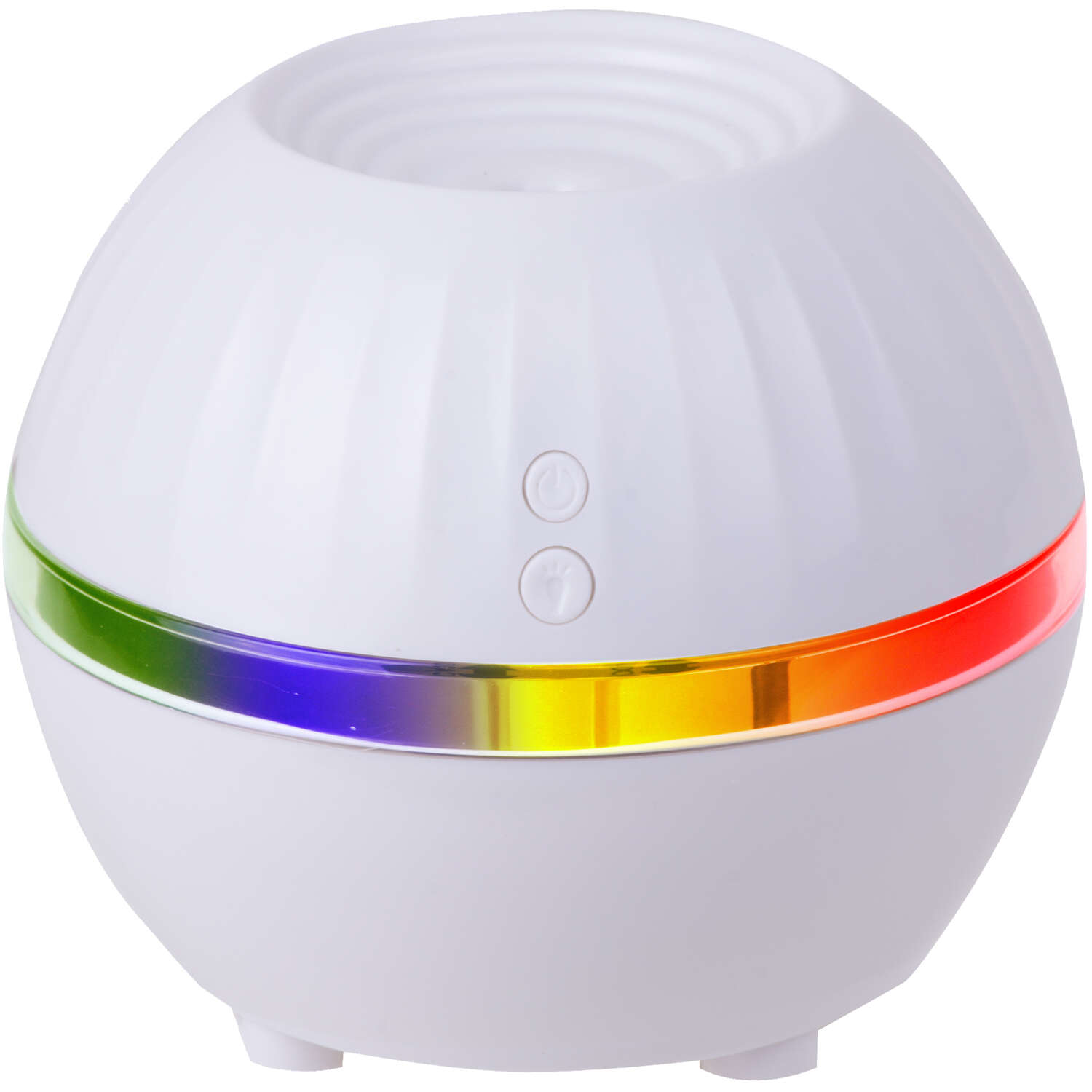 Air Innovations  Great Innovations  0.3 gal. 150 sq. ft. Manual  LED Mood Light Personal Humidifier