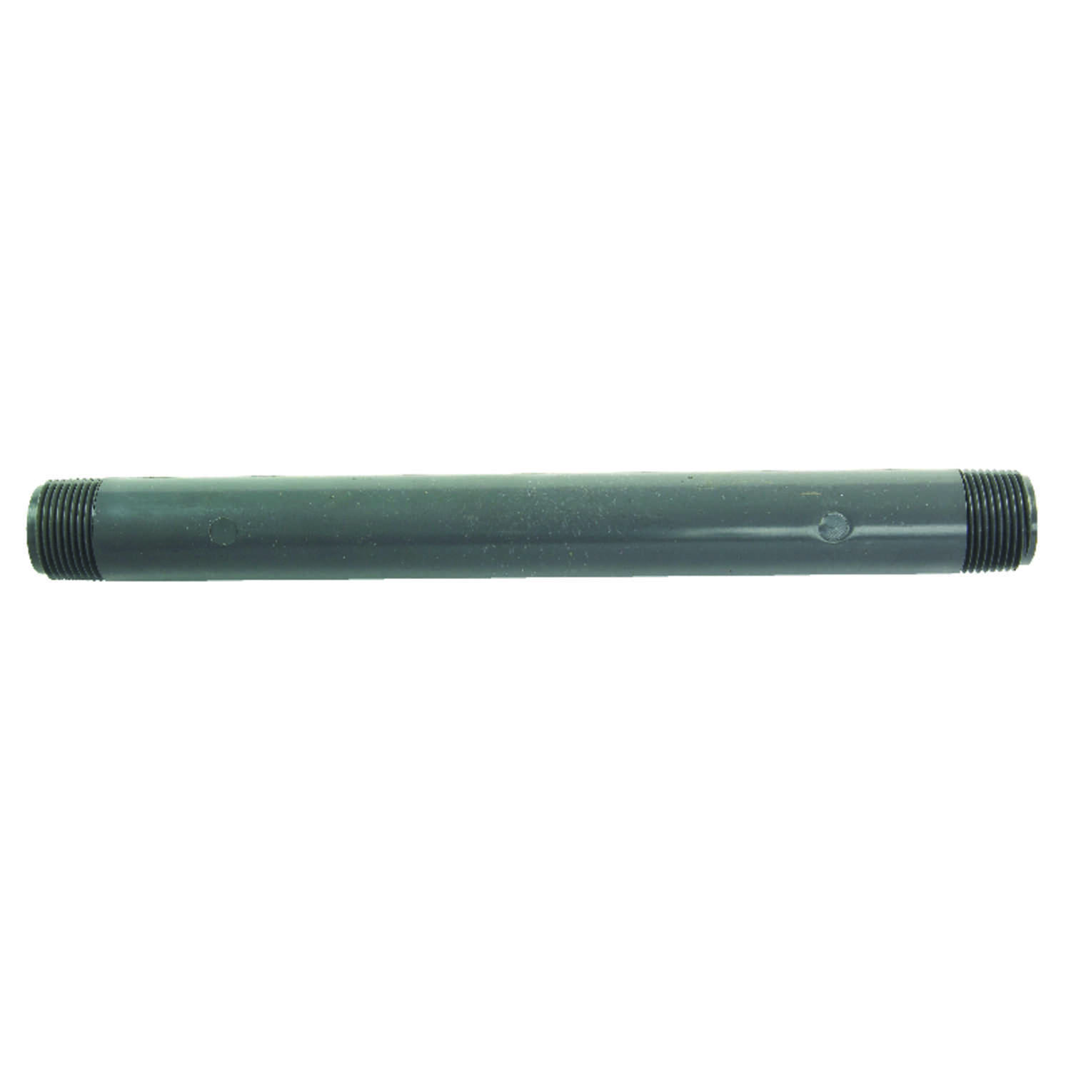 BK Products  Schedule 80  1/2 in. MPT   x 1/2 in. Dia. MPT  PVC  For Pressure Applications Pipe Nipp
