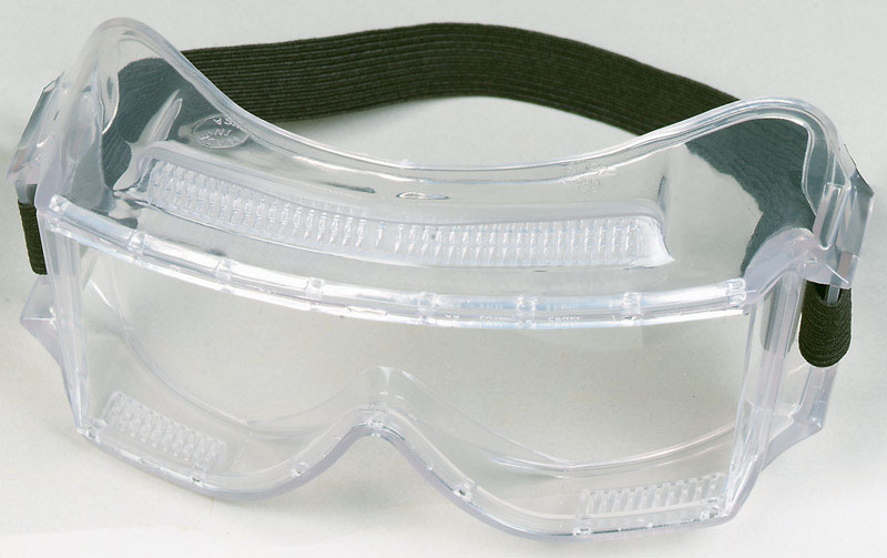 Tekk Safety Goggles    Clear Carded