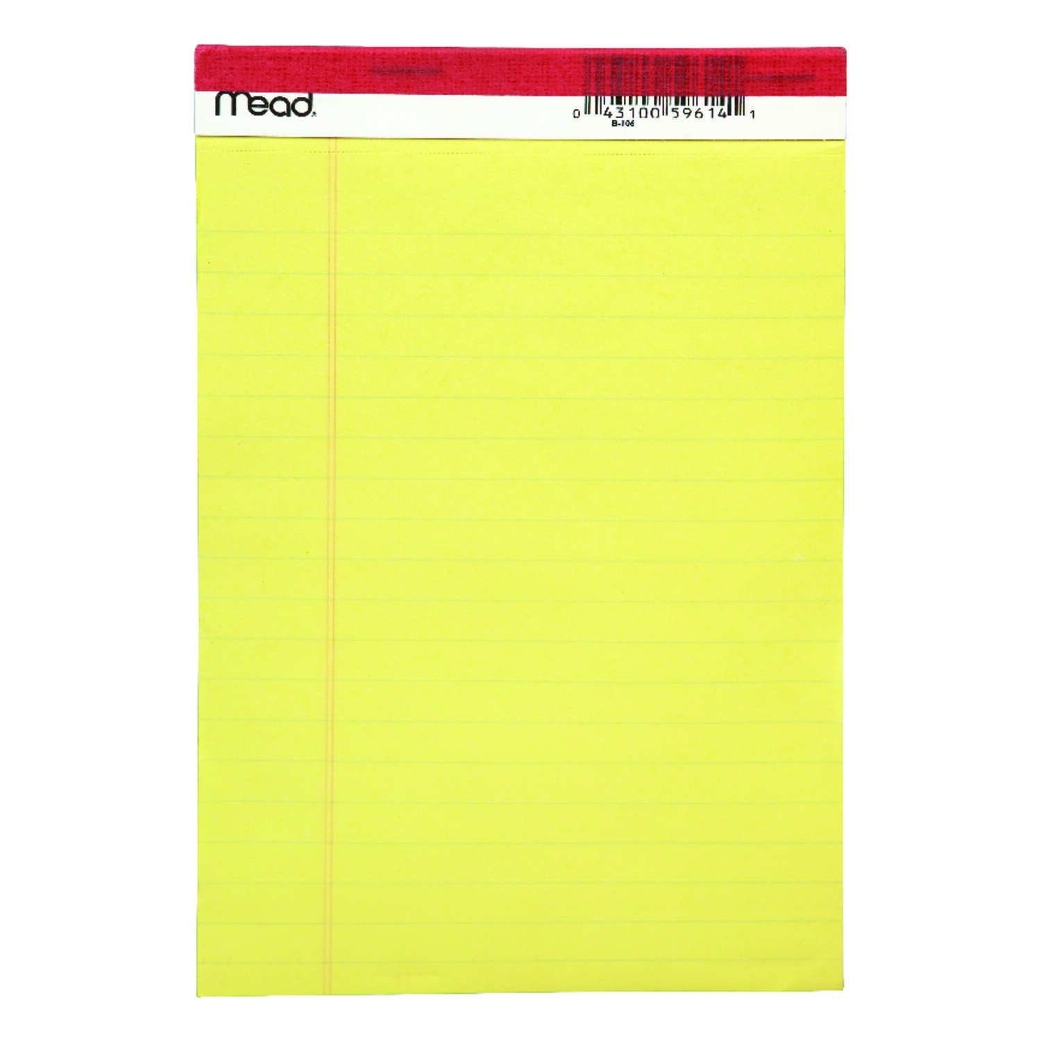 Mead  5 in. W x 8 in. L Legal Pad  50