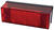 Peterson  Red  Rectangular  License/Stop/Tail  Light