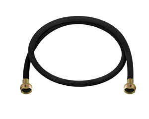 Ultra Dynamic Products  3/8 in. Dia. x 4 ft. L Rubber  Washing Machine Hose