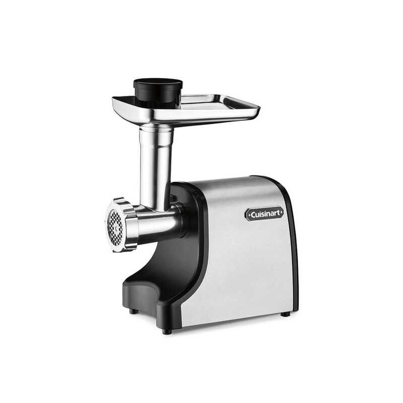 Cuisinart  Brushed  Silver  1 speed 3 lb/min Meat Grinder